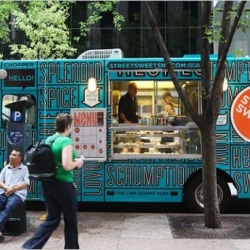 Seven awesome food trucks -- ranging from one selling empanadas to two vegan upstarts -- currently looking for funding through crowdsource platform Kickstarter.