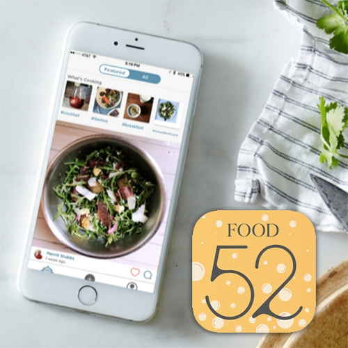 (Not)Recipes! Fun app from the folks of Food52 to share off the cuff cooking - after all some of the best dishes don't follow precise recipes! [p.s. Liking it for more than their app name!]