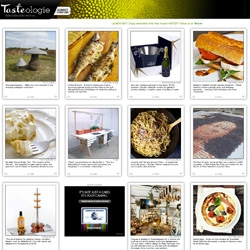 TASTEOLOGIE! Welcome the newest, most delectably inspiring side of NOTCOT! Our new food section launches today!