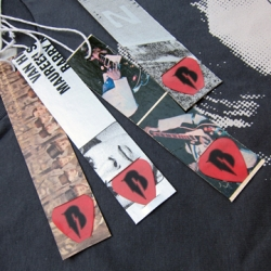 ROKBRAND launches line of tees with hand-cut hangtags from vintage album art and guitar picks!