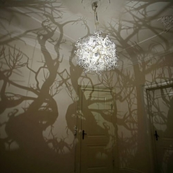 Forms of Nature  chandelier,  by Thyra Hilden and Pio Diaz
