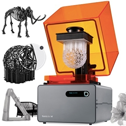 Formlabs introduces the Form 1+ SLA 3D Printer which is very tempting! It's 2nd gen laser system is 4x more powerful, prints up to 50% faster than the Form 1, and you can now print in black.