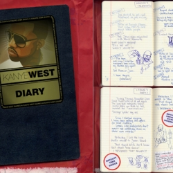 Kanye West's diary stolen! Insights into the secrets of a creative genius.