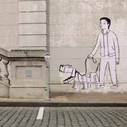 Adorable illustration/animation over real world in these insightful Smart Car ForTwo ads ~ Shilo for BBDO Berlin
