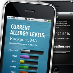 General Projects releases their first iPhone app: Allergies!