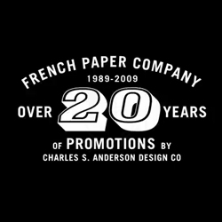 20 + Years of French Paper Promotions by Charles S. Anderson Design Company