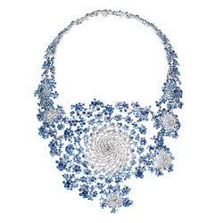 Marc Newson has been inspired by the complexity of fractals in his latest design collaboration with Boucheron.