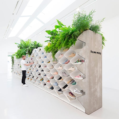 FRAME takes a closer look at Filling Pieces' amazing sneaker landscapes at Paris Fashion Week