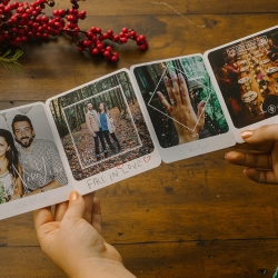 Use the Felt Storyframes app to create and send personalized photos in the mail. The real mail! Add custom designed frames and filters to your photos and add a handwritten message or a doodle to the front and back.