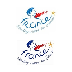 The designers of the new France tourism logo totally tried to slip in a nudy petudy version.