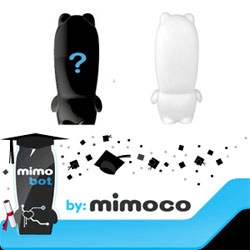 Mimobots have a crazy deal going on with Grads as the excuse... but for any mimobot you get, a protohoodie, core series or blank mimobot!