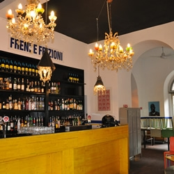 Gritty, arty and we believe, decidedly cool, Freni e Frizioni is one of the bars that give Rome it's fabulously hip nightlife.....