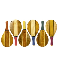 The FB Collection make gorgeous paddles for playing Frescobol, a popular sport on Brazillian beaches.