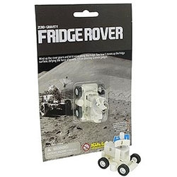 Zero Gravity Fridge Rover! Love this little magnetic wind up toy in black and white as it wanders around my fridge!