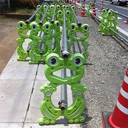 Kotaku has an amazing look at the cutest construction barricade designs ever in japan...