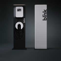ECOtality and frog design introduce a modern electric vehicle charger called Blink. There will be a residential and commercial release sometime in Fall.