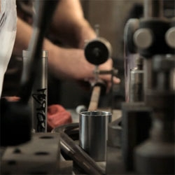 """From Steel"", great film by Michael Evans capturing the making of Soulcraft bicycles by Sean Walling."