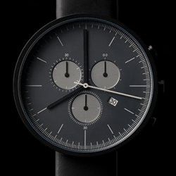 300 series chronograph wristwatch by uniform wares