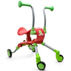 The Fropper and the Cheeky Chick! Collapsible kids push carts.