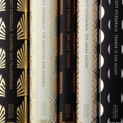 Sunning F Scott Fitzgerald classic book designs from Coralie Bickford-Smith of Penguin Books.
