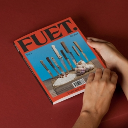 FUET magazine is a biannual publication for food lovers and magazine collectors.