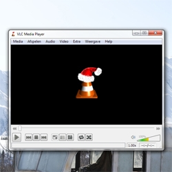 VideoLAN has a special christmas greet in it's desktop player this year. I was surprised! Open it up and see for yourself...