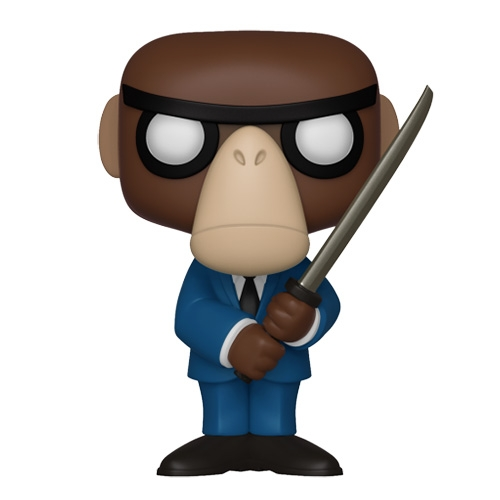 NOTCOT's favorite Monkey Assassin has been turned into a limited edition Pop Funko Fantastik Plastik Monkey Assassin!