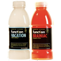 Function ~ Doctor prescribed... ok well not exactly prescribed, but doctor made? Seems like Vitamin Water, these magical elixirs have fun names as well.