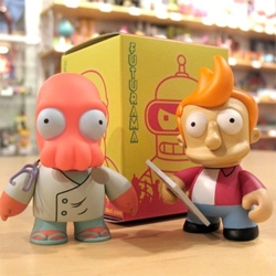 I must have these awesome little Futurama figurines. So cute! [Editor's Note: we've shown you pics before, but this shows some secret characters too!]