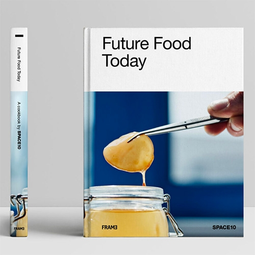 Future Food Today: A SPACE10 Cookbook has launched! It promises a collection of delicious and sustainable recipes and a tangible vision for what the sustainable kitchen of tomorrow may look like. (SPACE10 = IKEA's future living lab)