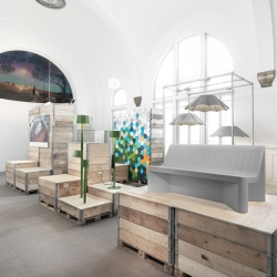 Hidden within a beautiful church at a secret central Stockholm location, Form Us With Friends 2011 is an exhibition showcasing a selection of Form Us With Love's latest collaborations.