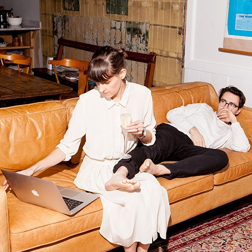 The Great Discontent interviews Helen Rice & Josh Nissenboim (super couple, creative directors and co-founders of the award-winning, South Carolina-based creative agency, Fuzzco) Inspiring read for creative entrepreneurs.
