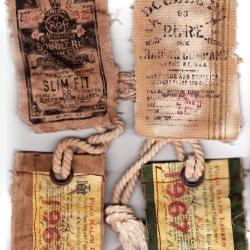 Vintage Ralph Lauren tags.