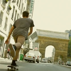 La Gaîté lyrique invites skateboarding culture for its first major summer theme and presents Public domaine - Skateboard culture, from Saturday 18 June to Sunday 7 August, 2011.