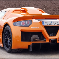 The Gumpert Apollo, a hybrid racecar from Gumpert Sportwagenmanufaktur, which will take part in this years Le Mans 24 Hours. Its engine can produce 650HP and weighs only 195kg.