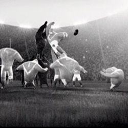 "Rugby never looked so pretty - beautiful animation from Marc Craste ~ Guinness ""Game White"""