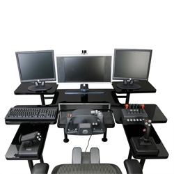 Digital Edge PC's gaming table is quite a set up