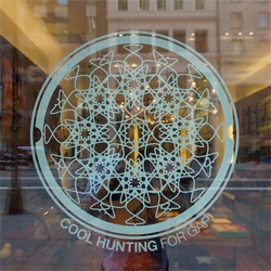 Cool Hunting's holiday pop up shop in Gap's project space on 5th Avenue just launched this weekend!