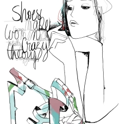found this really cool and REALLY French Illustrator - Garance Doré - She's been working for a while in Paris and apparently she have pretty a BIG fan club - I totally fall in Love for her Illustrations ....