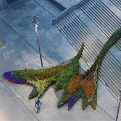 The Garden that Climbs the Stairs by Balmori Associates is one of our Top Ten modern garden designs.