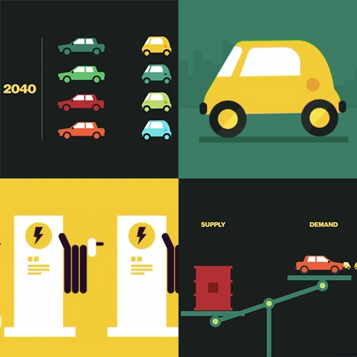 """The Peak Oil Myth and the Rise of the Electric Car"" - great animation (and food for thought!) from Bloomberg Business in their ""Sooner Than You Think"" series."