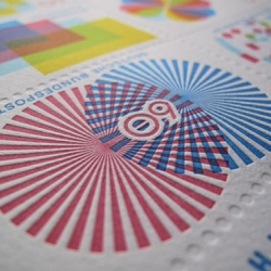 Stunning graphic stamps designed by Gavin Potenza.