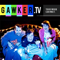 Gawker.TV launches ~ finding web videos to watch all the time...