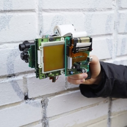 'gbg-8' : The 8-Bit Gun by Dmitry from Game Boy Camera & Printer.