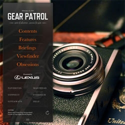 Congrats to our friends at Gear Patrol on their new iPad app!