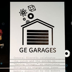 "GE Garage ~ Cool Hunting has a great look into this new NYC pop up that "" is a skill-building center powered by TechShop and developed in partnership with Skillshare, Quirky, Make and Inventables to serve as an advanced manufacturing lab..."""