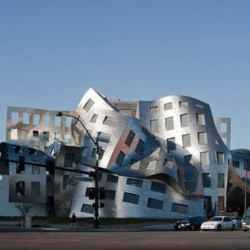 Frank Gehry's latest building, the Lou Ruvo Center for Brain Health, opened in Las Vegas last Friday.