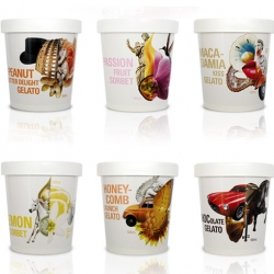 Gelati Sky is a boutique, premium gelati range. The story of Gelati Sky has a strong personality driven by Gelati Sky founder Paul Scalisi's memories of growing up in Rome, eating gelati.
