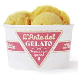 Who made that gelato look so good? The NYT Magazine blog explores the delicious design work of Louise Fili, creator of the logo for L'Arte del Gelato and many other culinary brands.