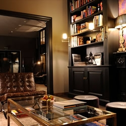 The George Hotel is a quirky slice of traditional English members club style in the heart of fashionable Hamburg.